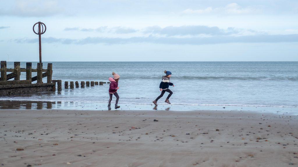 Aberdeen met kinderen: spelen op Aberdeen Beach