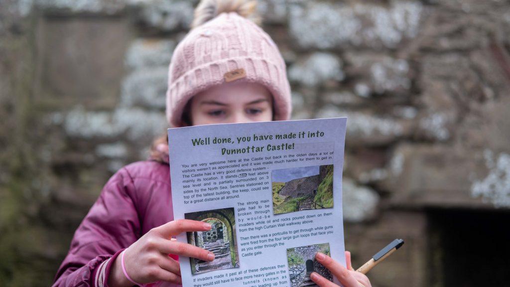 Speurtocht bij Dunnottar Castle