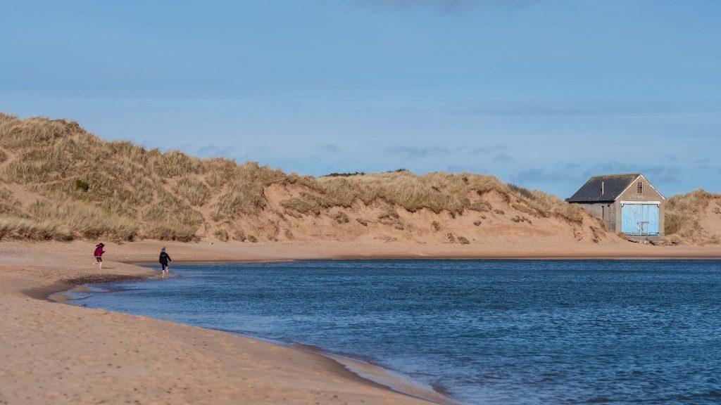 De Aberdeenshire Coast bij Newburgh Beach